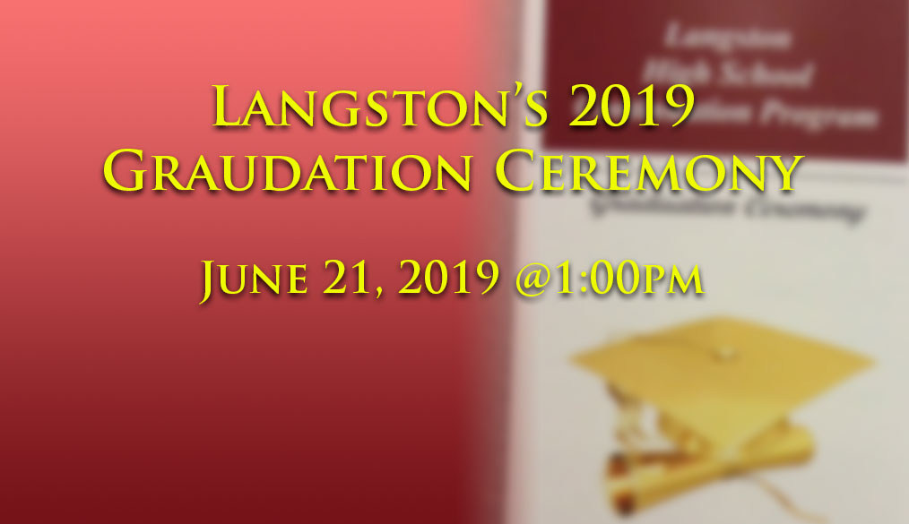 Langston's 2019 Graduation Ceremony